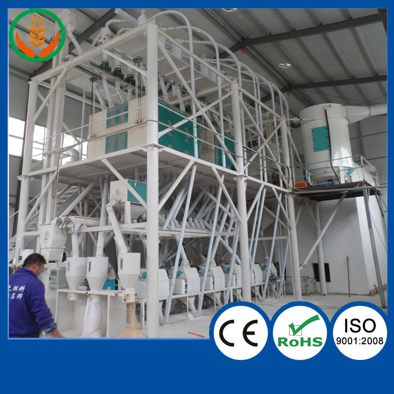 3 ton per hour wheat grain flour mill low price