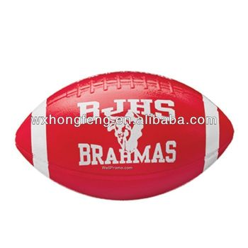 plastic toy inflatable rugby ball