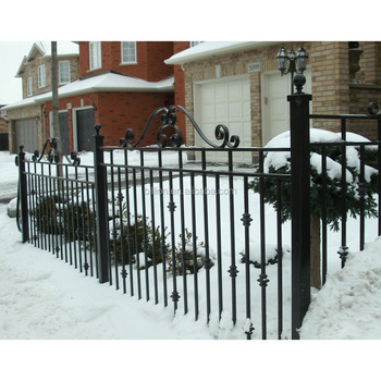 Hight Quality Arts And Crafts Wrought Iron Fence Design Buy Arts And Crafts Wrought Iron Fencewrought Iron Fenceiron Fence Product On Alibabacom