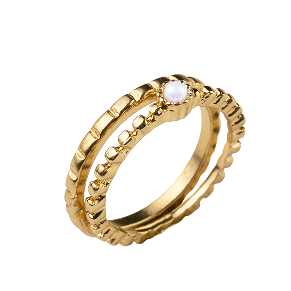 New Design La s Finger Ring Five Rings In Sivler View new