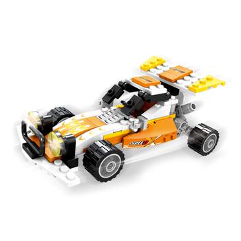 Model Baby Brain Development Crazy Assembly 3d Kart Diy Building Blocks Toy  For Kids - Buy Building Block Toy,Brick Toy,Toy Block Product on