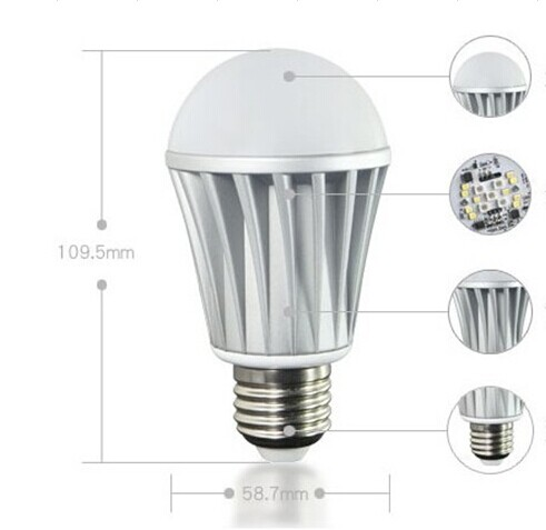 Bluetooth music controlled christmas lights led for Bluetooth controlled light bulb