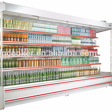 refrigerated open display supermarket 3m remote cooling system