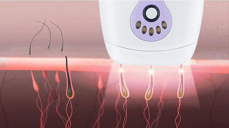 Face and Body IPL  photon Hair Removal Beauty device for Women,pink