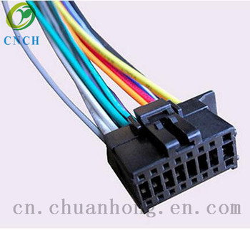 cnch wiring harness fits pioneer deh x6800bt deh x6810bt deh x3800s rh alibaba com pioneer wiring harness color code pioneer wiring harness diagram