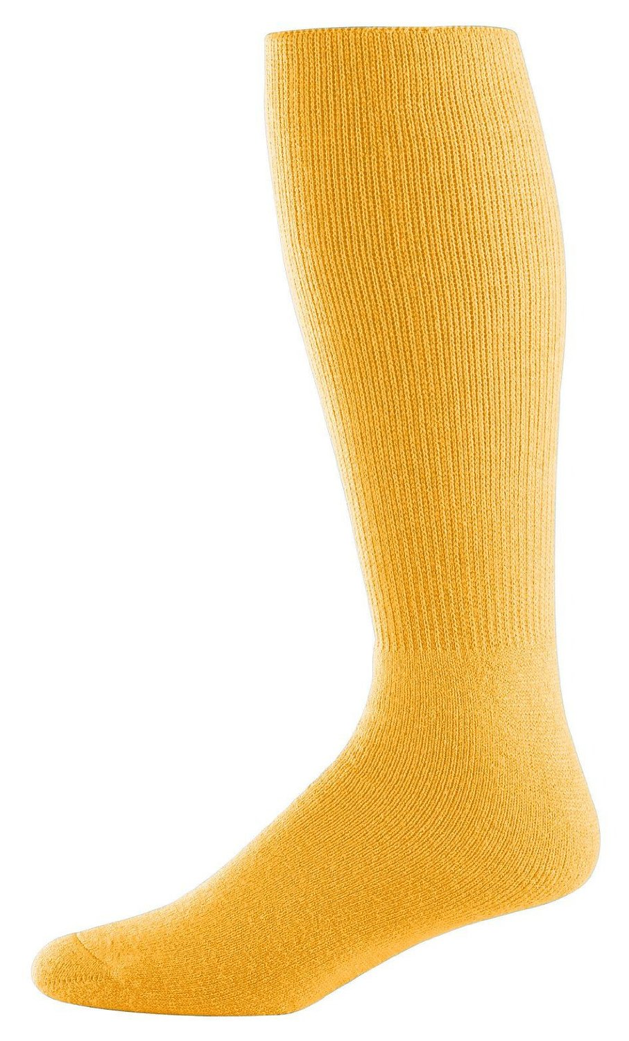 Athletic Socks - Youth Size 7-9, Color: Gold, Size: 7 - 9