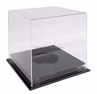 Wholesale Clear Acrylic Soccer Ball Display Case with Base