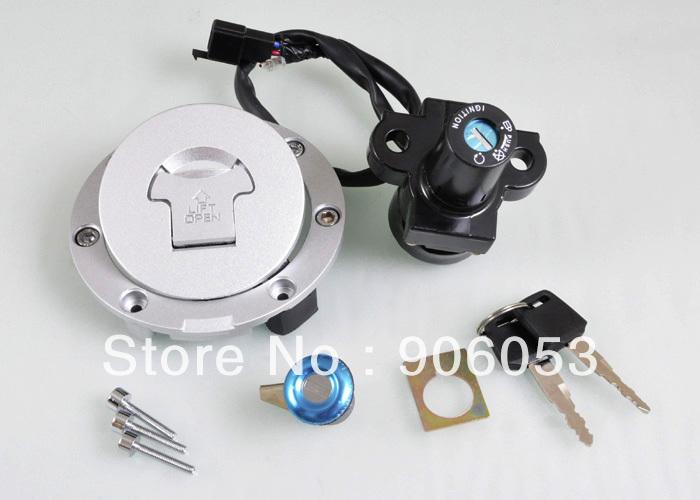Новый замок зажигания замок и топлива брелок-кепка комплект для Honda CBR400 MC23 MC29 88 - 97