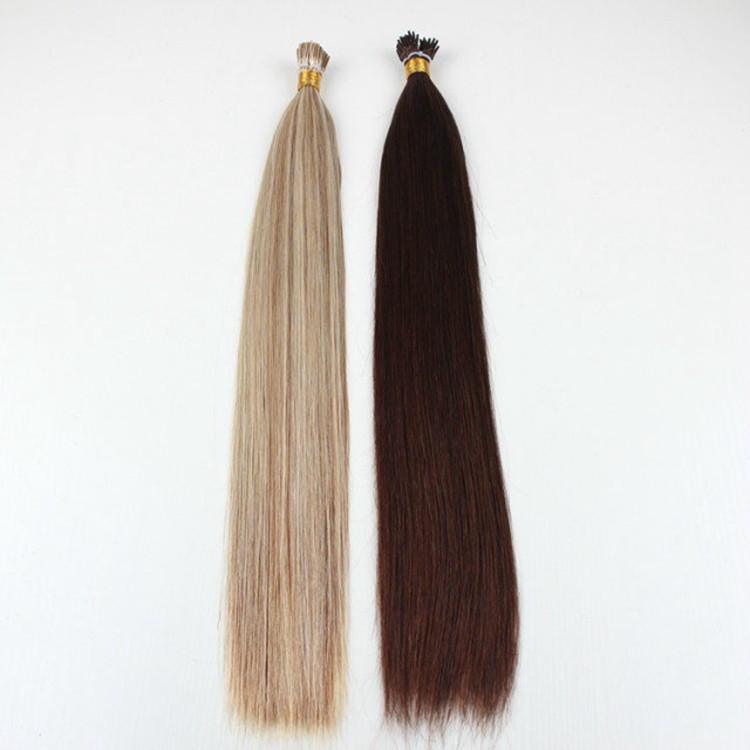 Buy from alibaba website 6a wholesale raw unprocessed peruvian hair i tip hair extensions,virgin peruvian hair