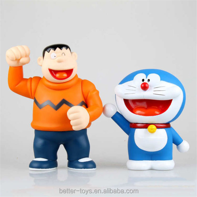 Dongguan direct manufacture PVC Doraemon custom made anime action figure for kids