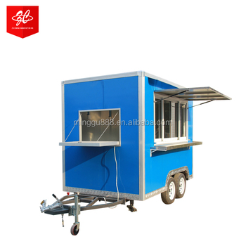 zhicheng food trailers for sausage and icecream