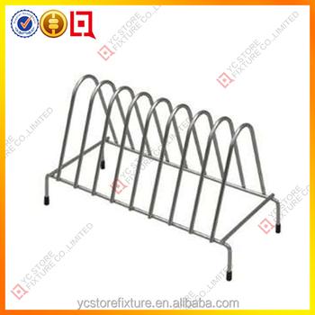 Commercial Metal Dish Rack/kitchen Display Rack/wood Dish Rack - Buy ...