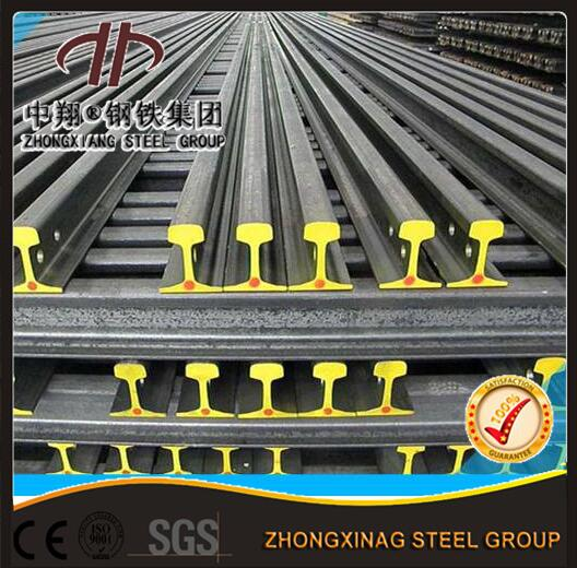 Zhongxiang UIC860 standard uic60 steel rails with Good Price