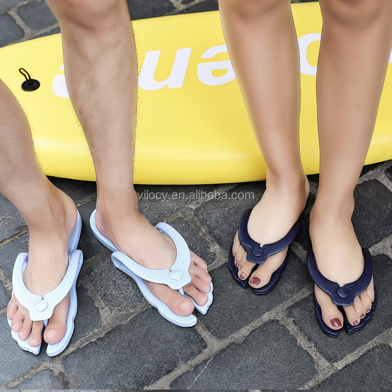 Latest Couple PVC Flip Flop Beach Slippers