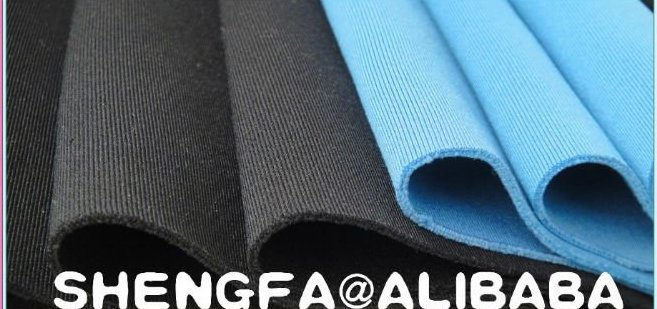 elastic force polyester spandex fabric for sports