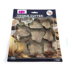 Shaped decorating tools biscuits stamp durable shaped cookie cutter