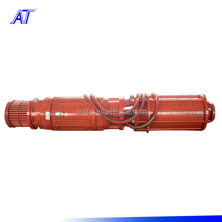High pressure submersible centrifugal electro pump, dewatering submersible pumps