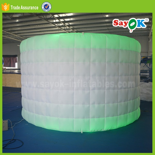 Led Bubble Wall Light Outdoor Inflatable Photo Booth Wall Lighting ...