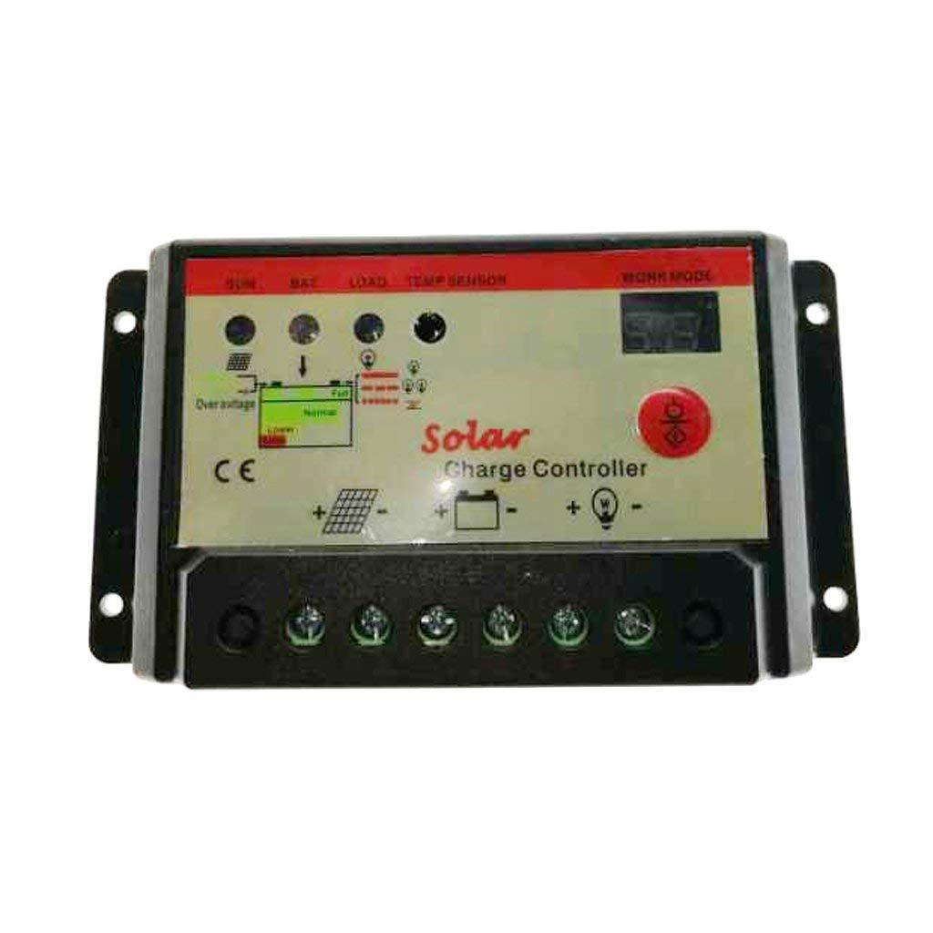 Homyl LED 10A Solar Charger Controller PWM Battery Charge Regulator Panel 12/24V