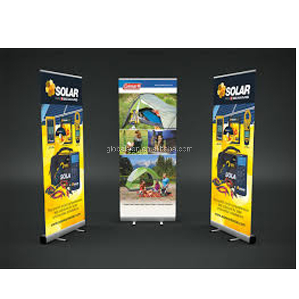 Premium Classic Wide Base Roll up Banner Stand Roller Banner Stand Pull up Banner stand