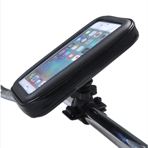 Hiking Cycling Touch Screen Waterproof Bag Bike Mount Mobile Phone Holder