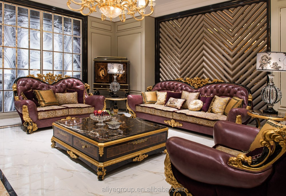 Ti 010 luxury hand made living room sofa furniture for American classic furniture company