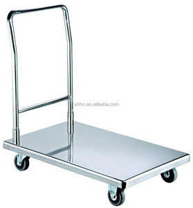 304ss trolley food cart for pack and roll trolley cart