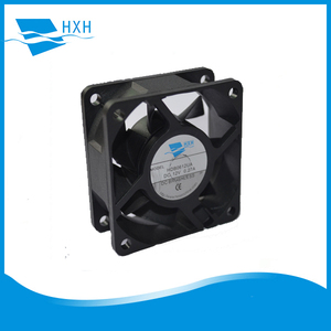 HXH6025HB2 60*60*25mm high air volume 12v fan