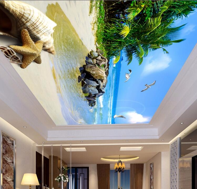 Decorative Wallpaper For Restaurant Garden Salon Theme