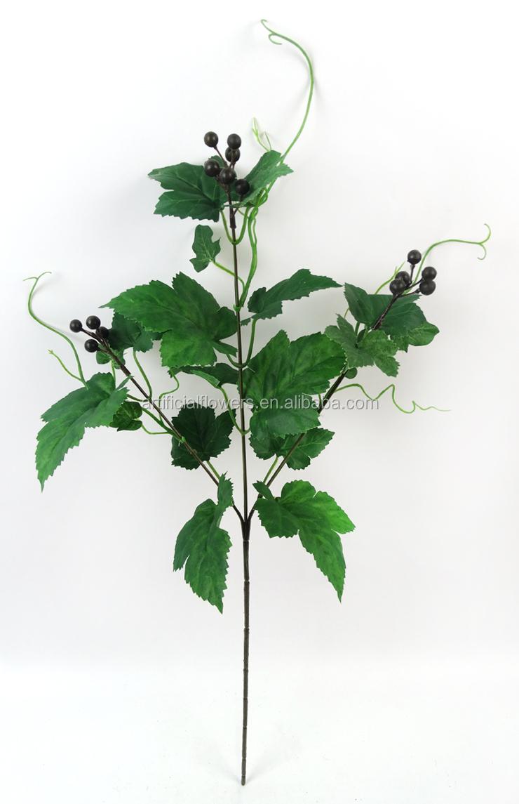 Bahçe Dekoratif Sahte üzüm Yaprağı Dalları Buy Product On Alibabacom