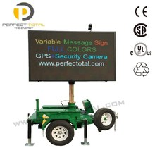 Mobile full colors LED VMS