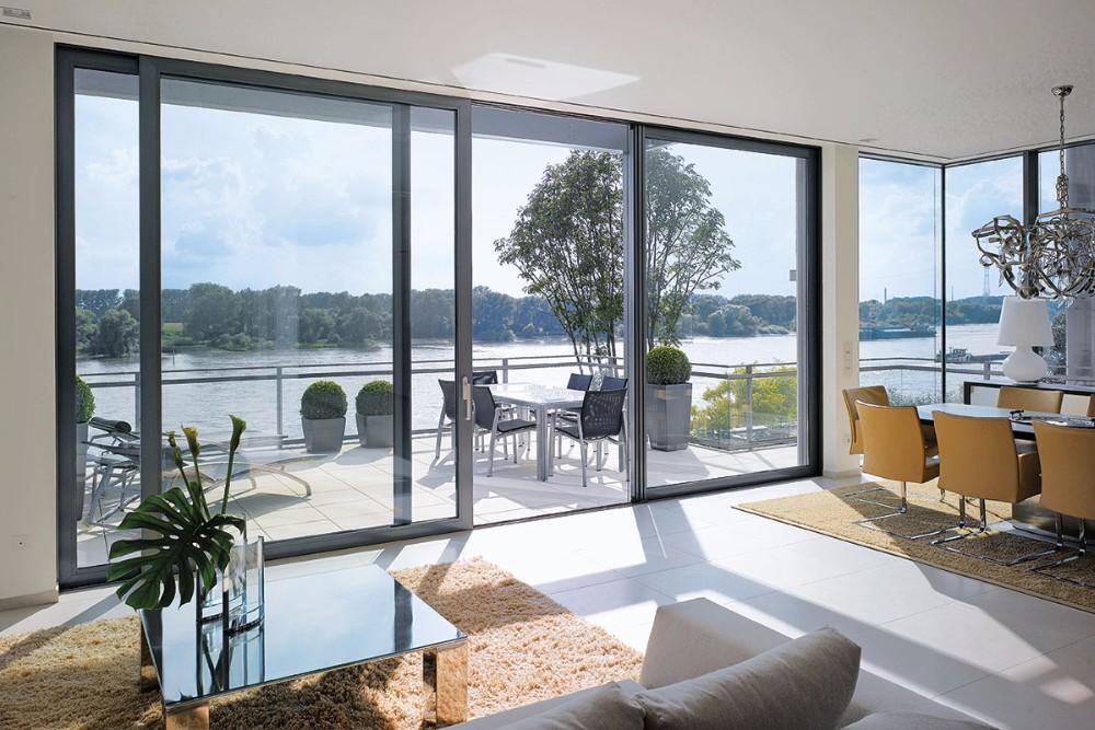 3 Panel Sliding Glass Door/ Large Sliding Glass Doors/ Sliding Glass Patio  Doors