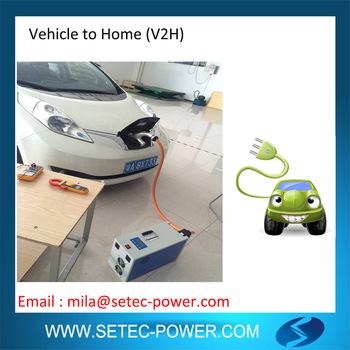 Setec High Efficiency Leaf To Home Power Supply System - Buy Setec,Setec  V2h Power Supply System,Setec Leaf To Home Product on Alibaba com
