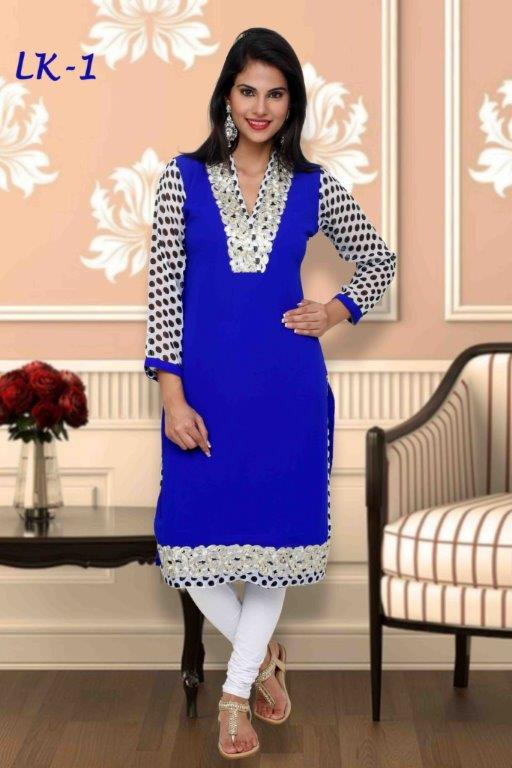 Latest Kurti Designs For Girls For Stitching 2014