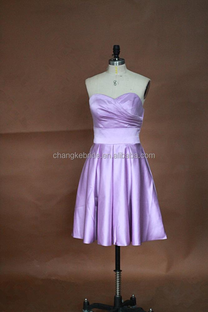 Venta al por mayor vestidos de damas de honor negros-Compre online ...