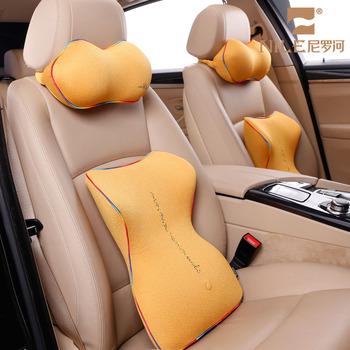 Neck Relax Pillow Car Seat Lumbar Back Support Memory Foam Cushion 2in1 Buy Memory Foam Cushion Car Seat Lumbar Back Support Cushion Neck Relax