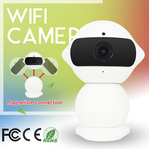 Vitevision Infrared Mini magnetism Robot ONVIF wifi IP Camera with YOOSEE  2CU Free Software