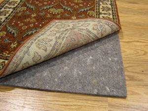 Durable, Reversible 9' X 12' PREMIER HOLD(TM) Rug Pad for Hard Surfaces and Carpet