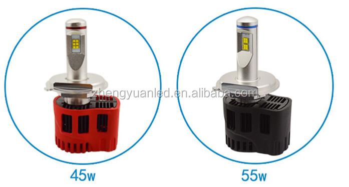 Automotive Parts Led Lighting P6 Led Headlight Bulbs 5200lm H4 H7 ...