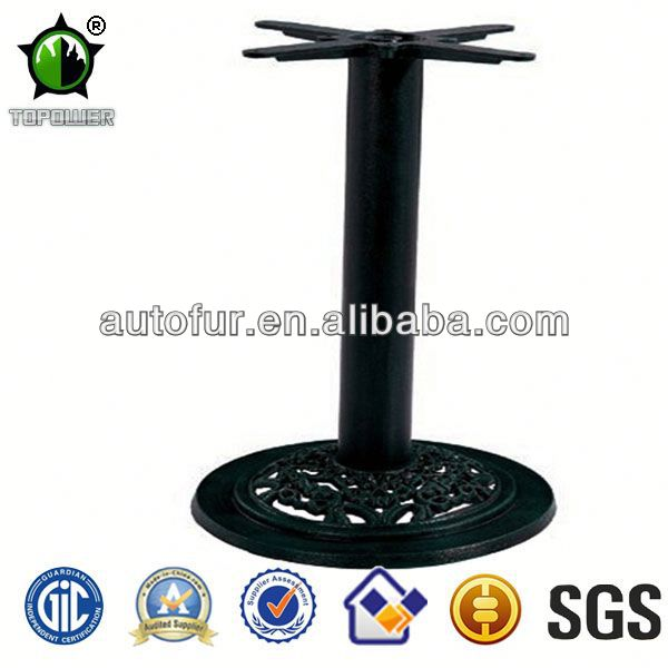 New Design Round Outdoor Cast Iron Metal Dining Table Base