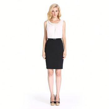 Semi Formal Black And White Dresses
