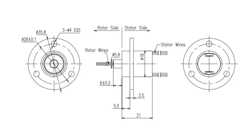 Elektrische Slip ring