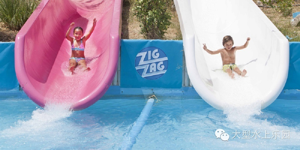 Qingfeng 2017 canton fair amusement water park childrens water slide water park equipment price