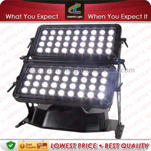led public illumination IP65 outdoor lighting 60x15w 3-in-1 rgb city color led