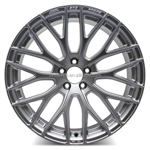 "auto car aluminum alloy wheel rim 18"" pcd 5x114.3 /5x112 wheels for car"