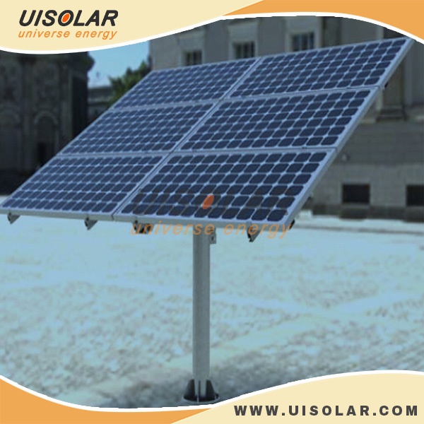 Solar Panel Support Structures Single Pole Solar Panel