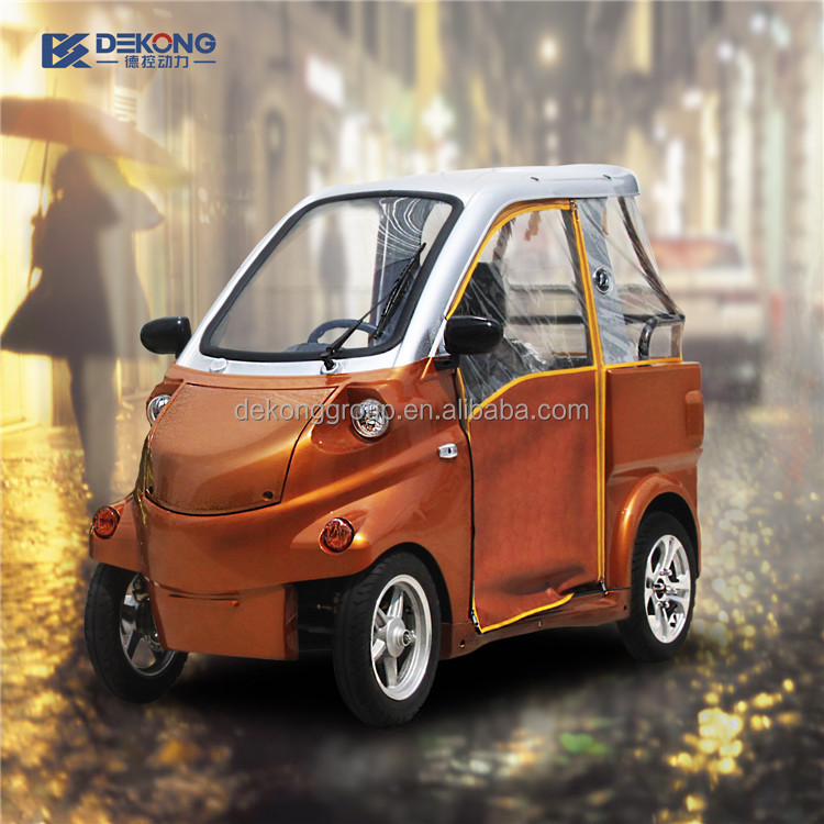Street Legal Small Electric Cars For With Eec Certificate