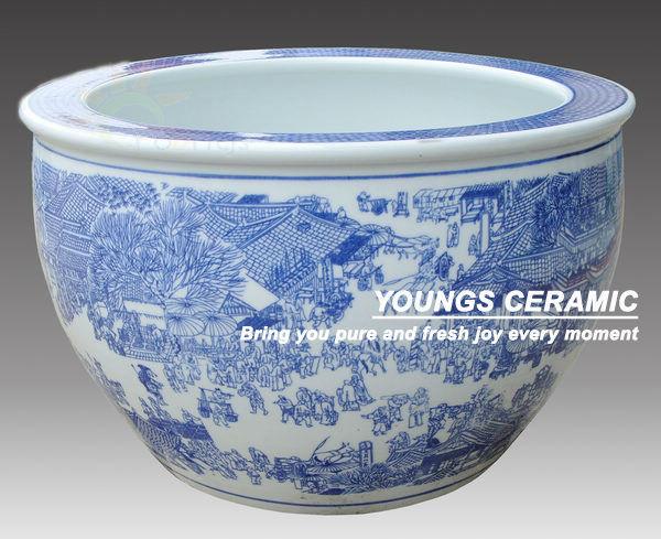 Wholesale chinese blue white ceramic planters pots for indoor and wholesale chinese blue white ceramic planters pots for indoor and outdoor buy wholesale plantersceramic outdoor potsoutdoor pots product on alibaba mightylinksfo
