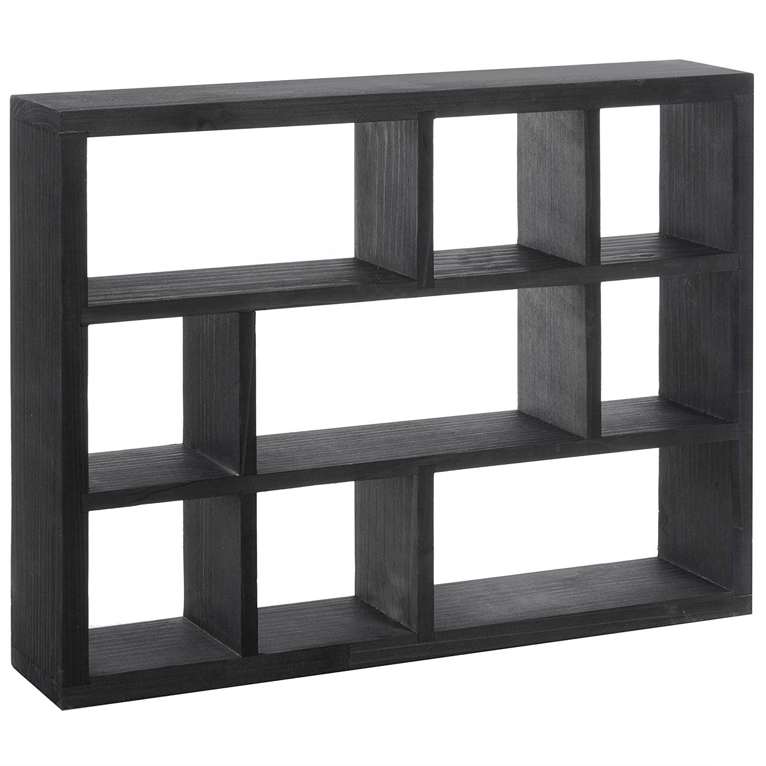 Rectangular Wooden Wall Shelf Home Decor Wall Display