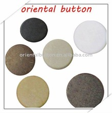 2012 top fashion round marble shank button